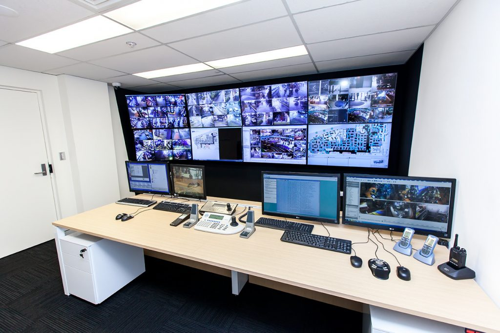 Control Room Monitoring Cape