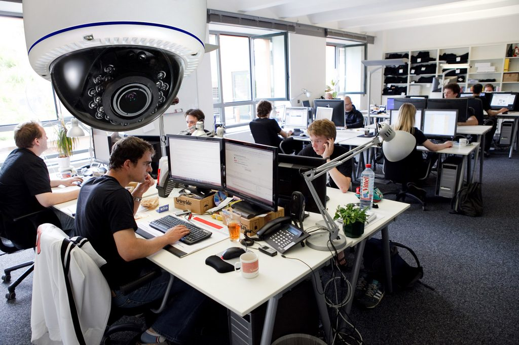 Advantages Of An Office Security System - Control Room Monitoring Cape Town Nzacksi Security