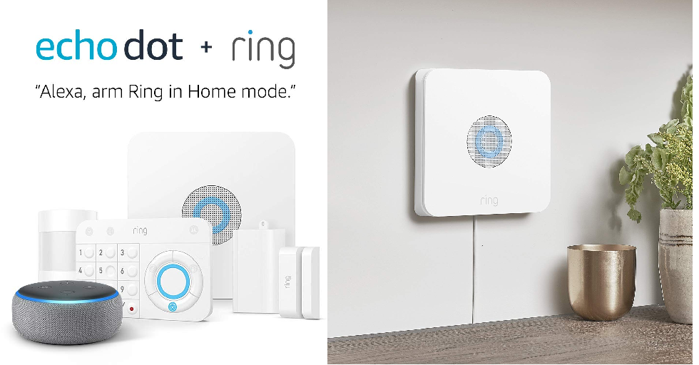 Ring Alarm 5 Piece Kit + Echo Dot Nzacksi Security Cape Town Security Solutions Cape Town