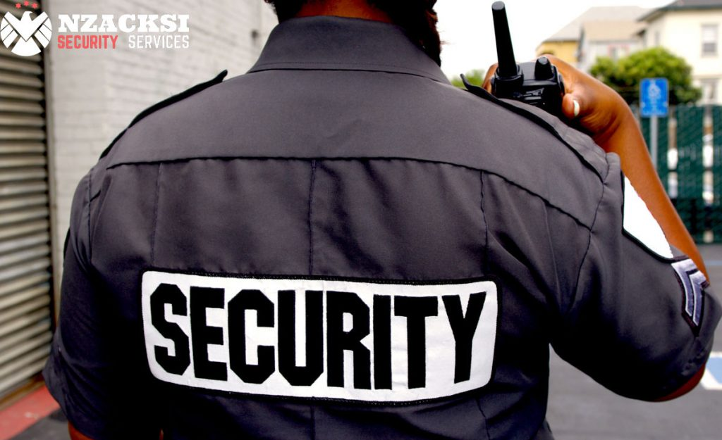 Benefits of Having a Security Guard- Security Services Cape Town Nzacksi Security Cape Town