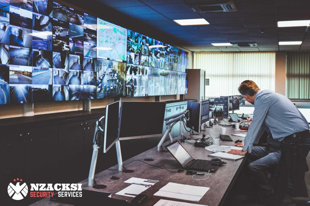 Benefit of Off-Site CCTV Monitoring Control Room Monitoring Cape Town - Nzacksi Security Services