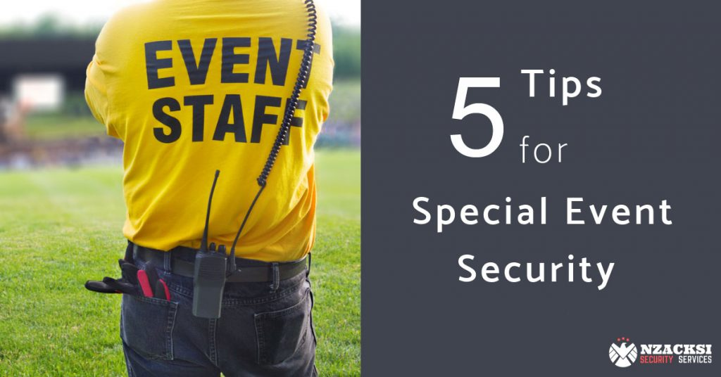 Helpful Security Tips to Keep Your Event Safe Events Security Cape Town