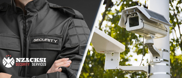 Security guard vs Surveillance system - Security Guard Service Cape Town